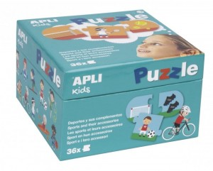 APLI KIDS PUZZLE- SPORTY